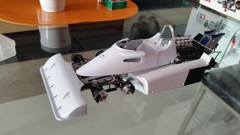 tamiya - Tamiya 1/12 Tyrrell P34 static model build 20150810