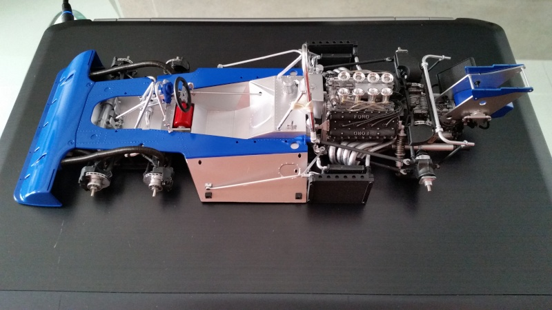 tamiya - Tamiya 1/12 Tyrrell P34 static model build 20150811