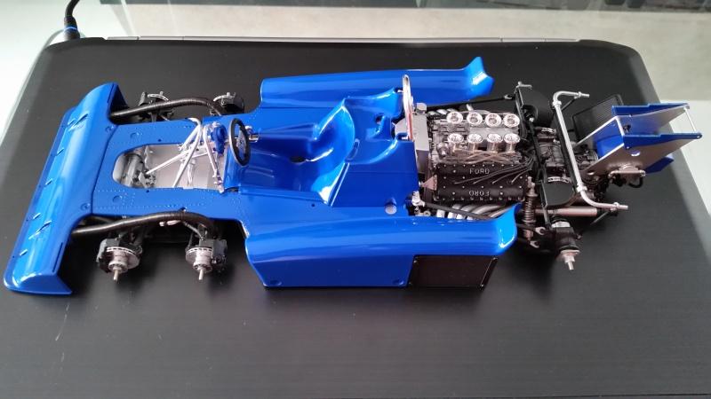 tamiya - Tamiya 1/12 Tyrrell P34 static model build 20150812