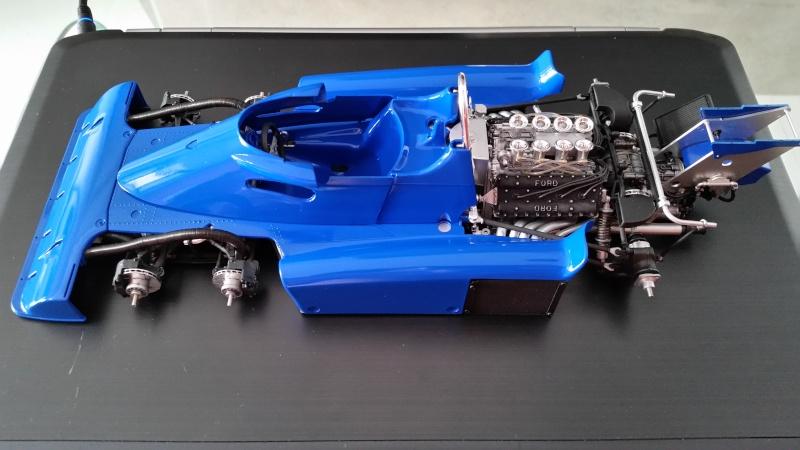tamiya - Tamiya 1/12 Tyrrell P34 static model build 20150813
