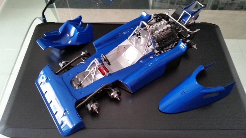 tamiya - Tamiya 1/12 Tyrrell P34 static model build 20150814
