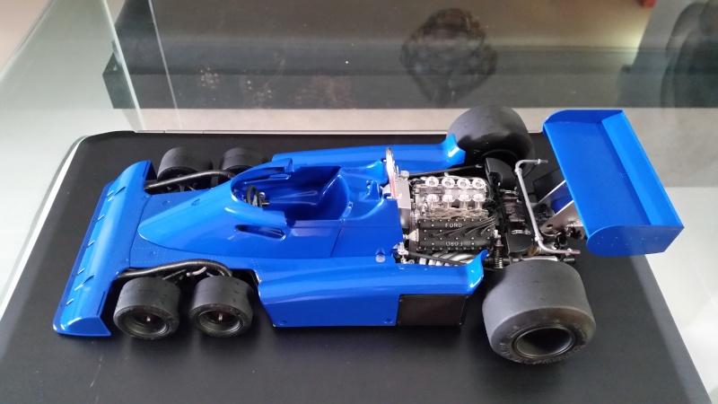 tamiya - Tamiya 1/12 Tyrrell P34 static model build 20150815