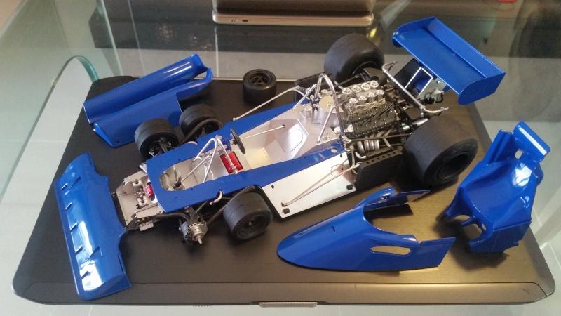 tamiya - Tamiya 1/12 Tyrrell P34 static model build 20150816