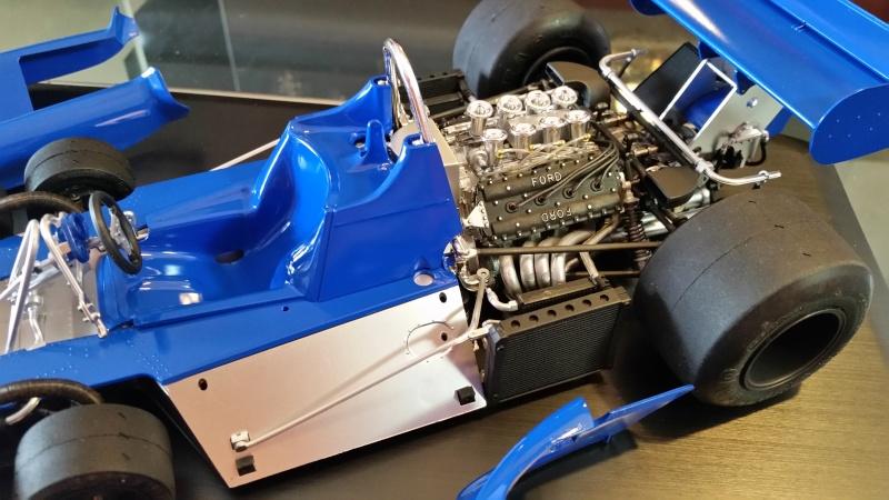 tamiya - Tamiya 1/12 Tyrrell P34 static model build 20150817