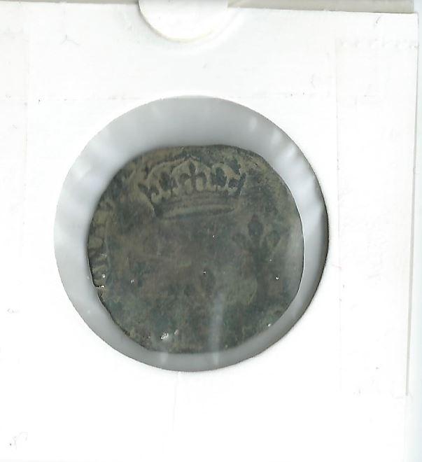 Demande indentification monnaie romaine (euh...sol parisis) Med010