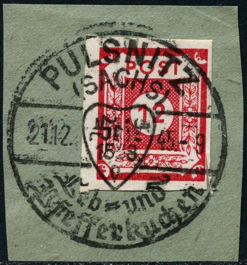1945 - Ortswerbestempel - Deutschland nach 1945 (Handstempel) Werbes10