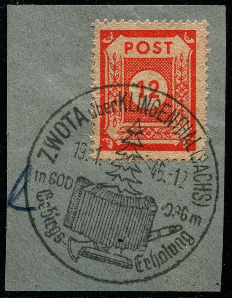 1945 - Ortswerbestempel - Deutschland nach 1945 (Handstempel) Werbes11