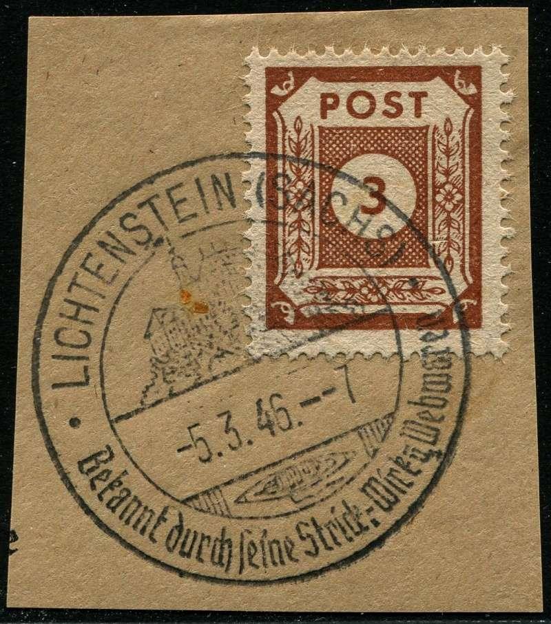 1945 - Ortswerbestempel - Deutschland nach 1945 (Handstempel) Werbes12