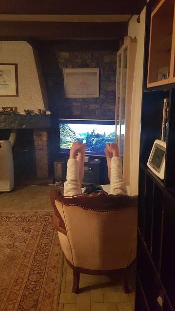 Mamy fait du Yoga , Papy va jouer avec ses copains ! 20150913