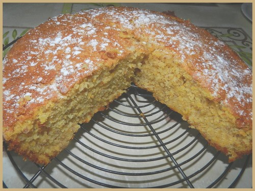 Gâteau au potimarron (butternut pour moi) Dscn2924