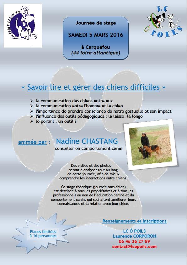 Esprit Canin 33 - Nadine Chastang - Page 2 Affich13