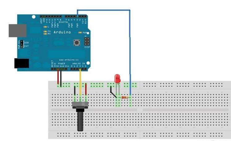 analogWrite - Arduino Analog10