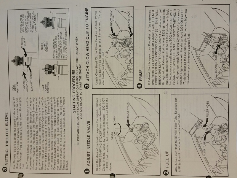 Need Cox Sea Bee instruction sheet 20151011