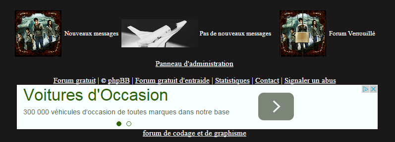 Tag page-footer sur Forum gratuit : Le forum des forums actifs 2015-015