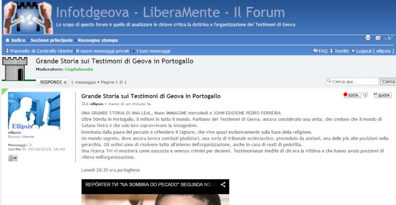 SURPRESA REVELADA -  REPORTER TVI - Página 2 Italia10