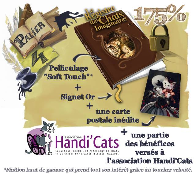 """Partenariat avec Mathieu Coudray et son livre """"Le Registre des Chats Imaginaires"""" 12200710"""