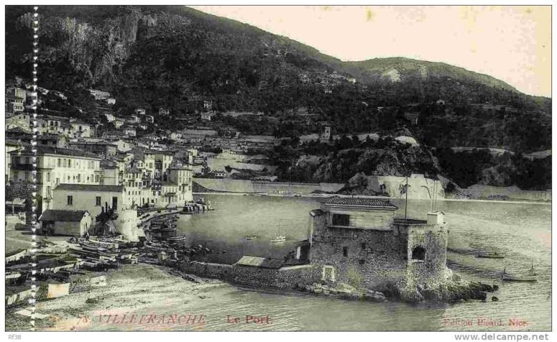 VILLEFRANCHE sur MER Patrimoine historique et  maritime 561_0010