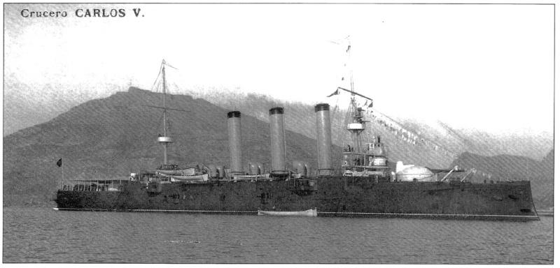 Croiseurs espagnols Empera10
