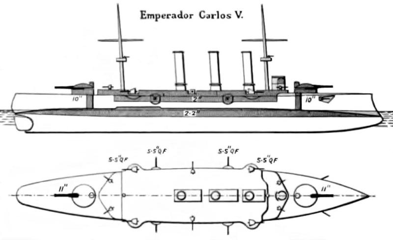 Croiseurs espagnols Empera12