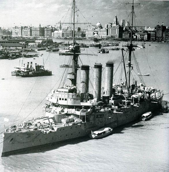Croiseurs japonais - Page 2 Idzumo11