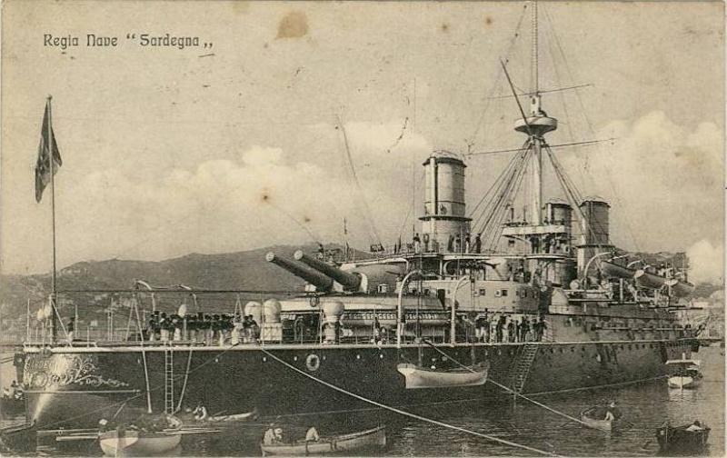 Cuirassés italiens Sardeg10