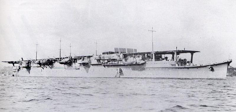 Porte-avions japonais Shoho_10