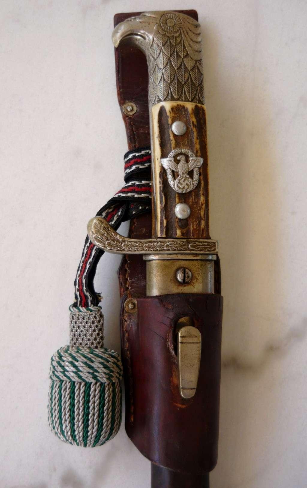 Baïonnette Gendarmerie du Land Jaeger P1160820