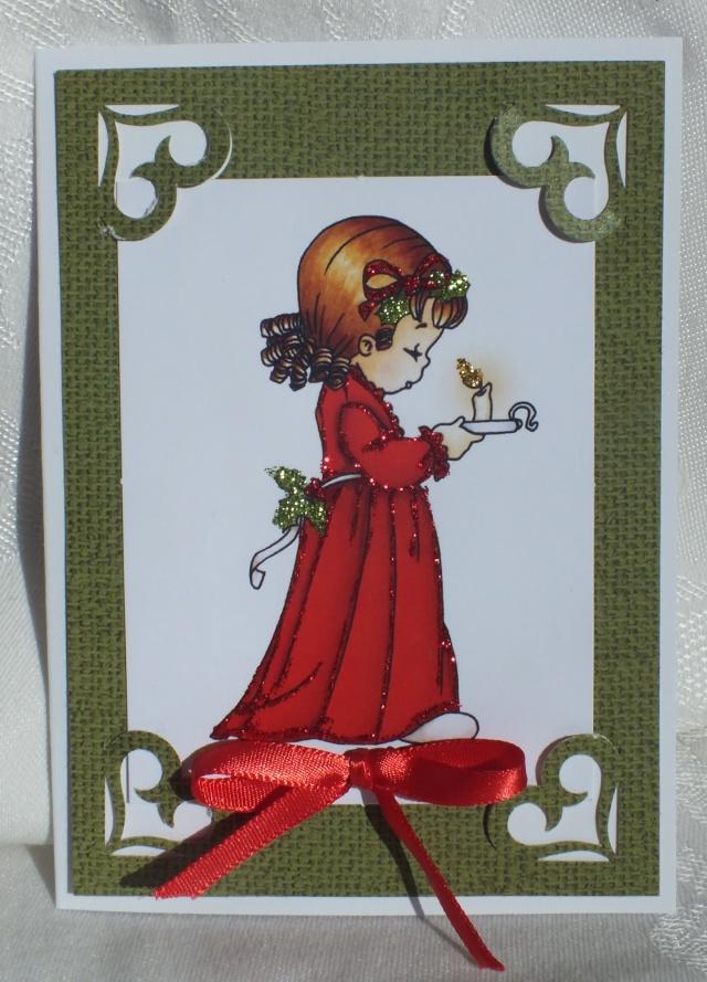 6 décembre-inspiration carte: petites filles Dscf0921