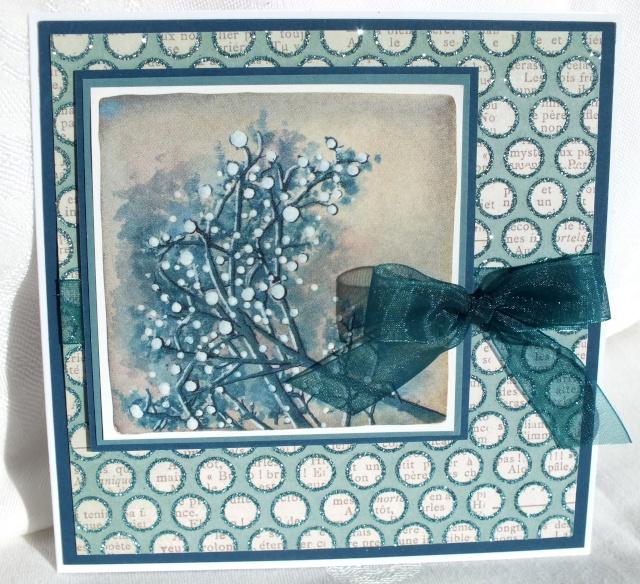 8 décembre-inspiration carte: Cartes bleues nuit de Noël Dscf0925