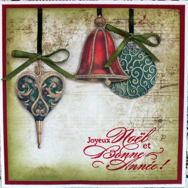9 décembre-inspiration carte: Boules Dscf0928