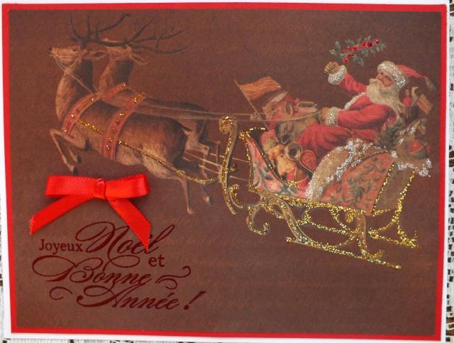 7 décembre-inspiration carte: traineau du père-noël Dscf0931