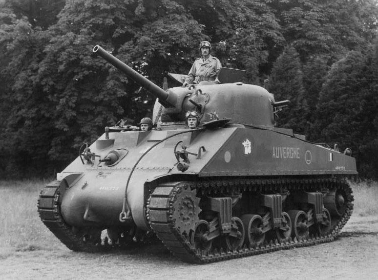 Sherman Cherbourg Auverg10