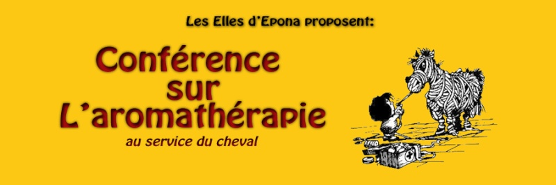 Conférence: L'aromathérapie au service du cheval - Dimanche 06 décembre - Chambéry Bandea10