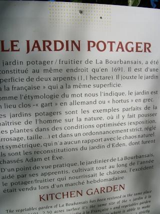 Potager du château de la Bourbensais. (35) Photo220