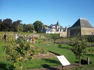 Potager du château de la Bourbensais. (35) Photo229