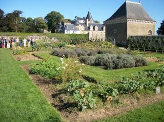 Potager du château de la Bourbensais. (35) Photo234