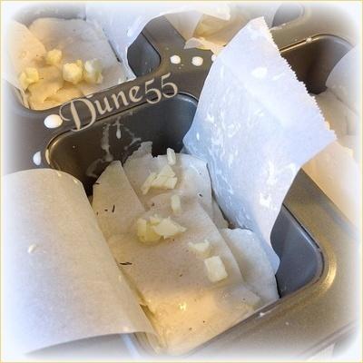 Pavés de pommes de terre aux zestes de citron & thym Kn9cis10