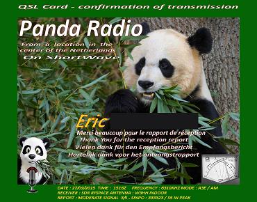 eQSL de PANDA radio Panda_10