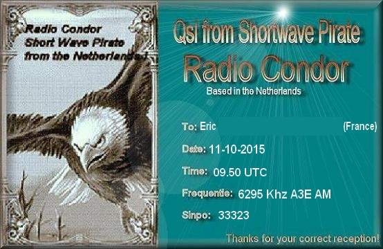 Radio Condor Qsl-er10
