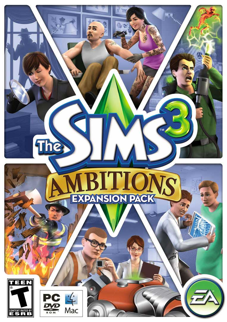 Sims 3 Ep's & Sp's 412