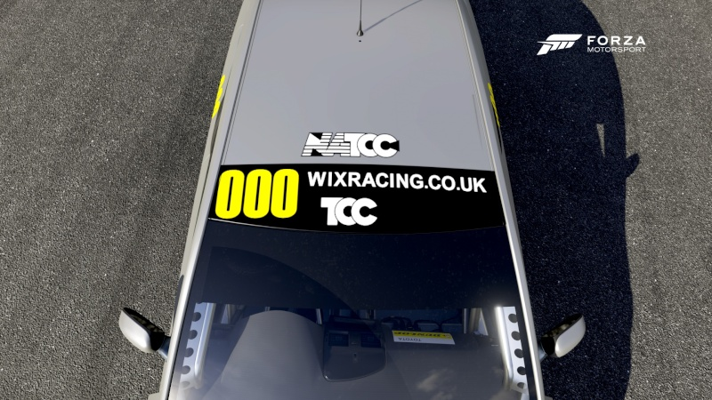 WIX Racing TCC - Livery Requirements Wixrac10