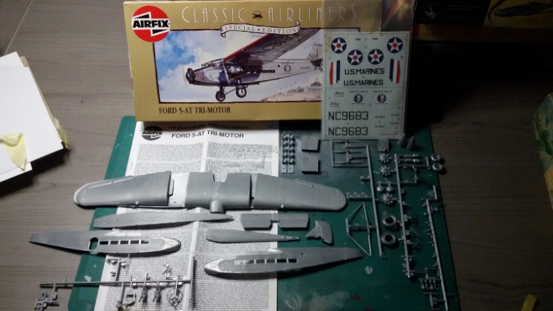 Ford 5-AT Tri Motor - Airfix 1:72 20150914