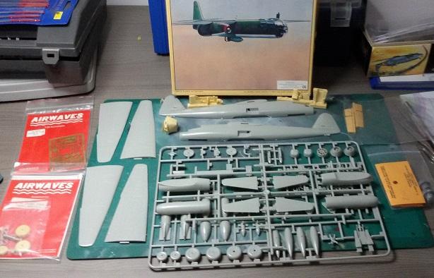 Arado Ar 234 B (Hobbycraft 1:48) Parts10