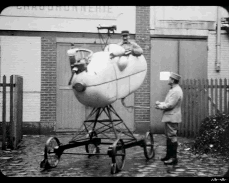 Französischer Flugsimulator 1918 - Diorama Maßstab 1:16 Franz_11