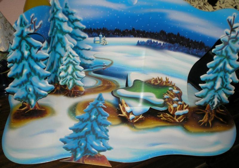 Weihnachtswelt mit PLAYMOBIL-Figuren und -Zubehör 001b2b10