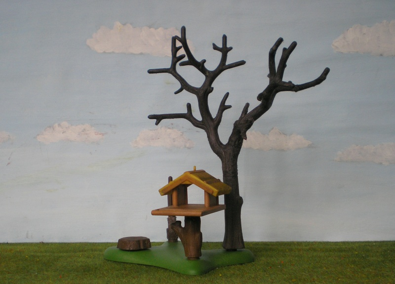 Weihnachtswelt mit PLAYMOBIL-Figuren und -Zubehör 001c2a11