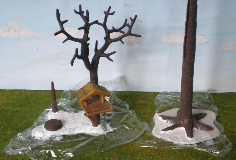 Weihnachtswelt mit PLAYMOBIL-Figuren und -Zubehör 001c3a12