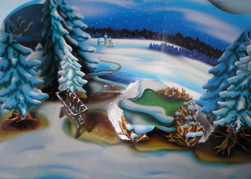 Weihnachtswelt mit PLAYMOBIL-Figuren und -Zubehör 001c3e10