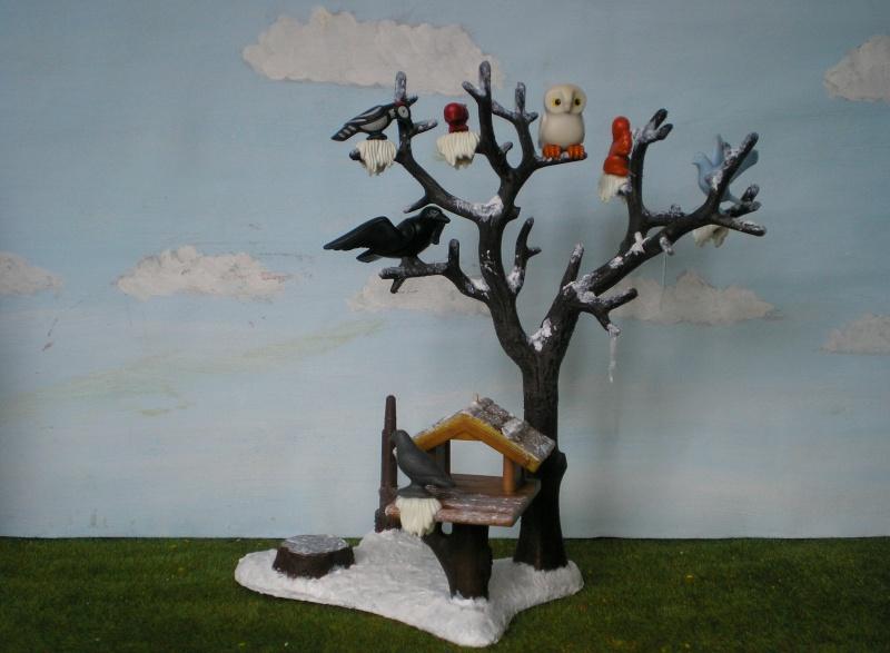 Weihnachtswelt mit PLAYMOBIL-Figuren und -Zubehör 001c3f10