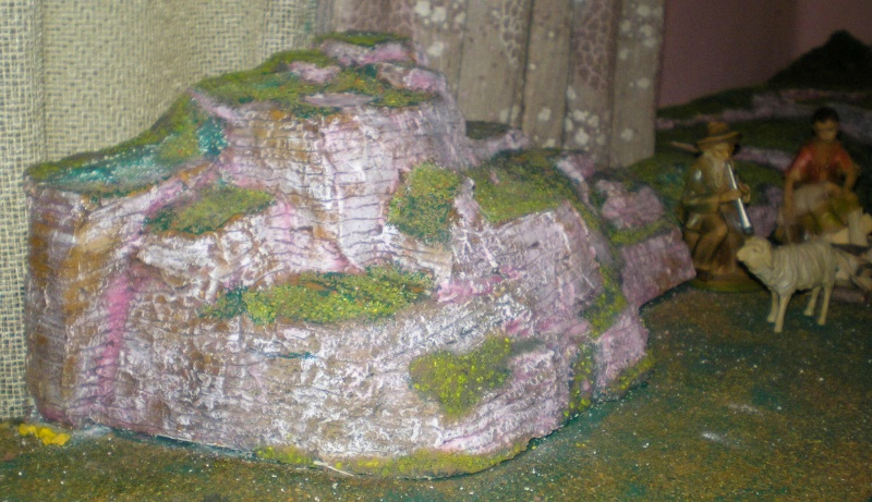 Krippen-Diorama zur Figurengröße 16 cm 001e1_11